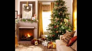 decorate home for christmas living room christmas living room traditional ideas youtube