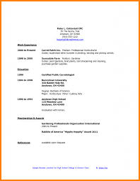 Casual Job Resume by Resume Examples For Restaurant Jobs