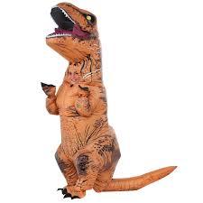 jurassic world kids t rex inflatable costume buycostumes com