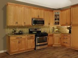 kitchen oak cabinets color ideas lowes used walls log cabinet small stock gray style home bou oak