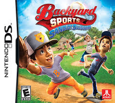 amazon com sandlot sluggers nintendo ds video games