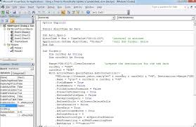 how to update an excel worksheet periodically with a vba timer