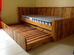 wooden pallet bed wood pallet furniture