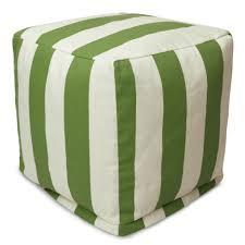 Home Goods Chair Covers Ottoman Astonishing Cube Ottoman Bean Bag Ottomans Poufs Patio