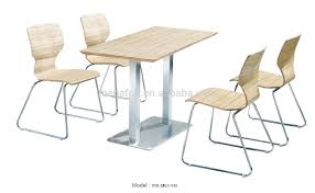 Good Quality Inexpensive Furniture High Quality Cheap Cafe Table And Chairs With Stainless Steel Legs