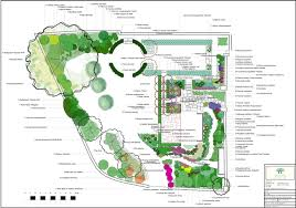 planting plan for a blaydon walled garden gateshead landscape