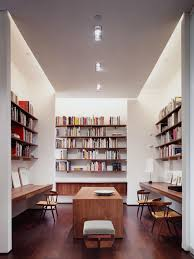 Home Office Library Houzz - Home office library design ideas