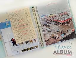 alaska photo album lottermoser mini albums travel album alaska