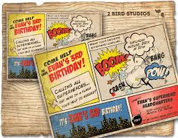 printable confirmation invitations superheroes and villains invitation