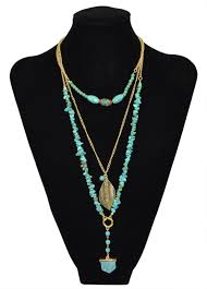 natural stone statement necklace images Cheap stone n string necklaces find stone n string necklaces jpg
