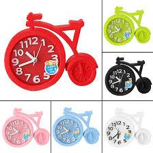 bicycle alarm clock sound creative personality clock