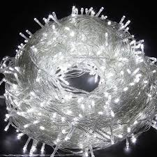12w 66ft decorative 200 led twinkle string light cold