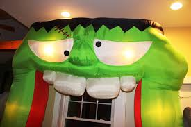 Halloween Inflatable Arch by Gemmy Airblown Inflatable 9 Ft Giant Frankenstein Archway Arch