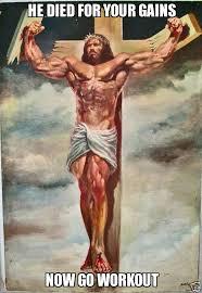 Bro Jesus Meme - muscular jesus weknowmemes generator
