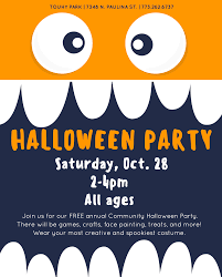 halloween party at touhy park