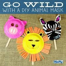 masks for kids create diy animal masks for kids hefty