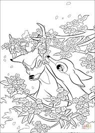 faline bambi coloring free printable coloring pages