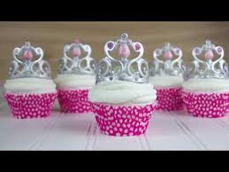 crown cake toppers how to make a princess crown cupcake topper easy steps to