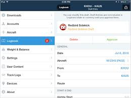 fltplan foreflight digital pilot logbook for ipad and iphone