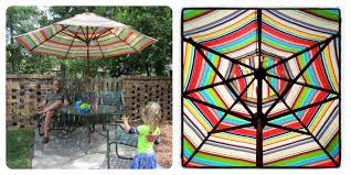 Patio Umbrella Clearance Patio Striped Patio Umbrella Home Interior Decorating Ideas