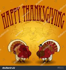 happy thanksgiving flyer background card includes stock vector