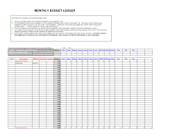 New Business Budget Spreadsheet by New General Ledger Templates Exce Excel Xlsx Templates