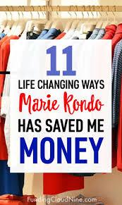 marie kondo tips 11 ways marie kondo saved me money funding cloud nine