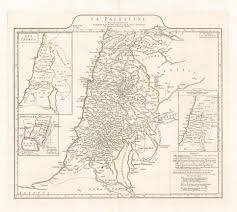 Blank Map Of Israel And Palestine by 1767 La Palestine Par Le Sr D U0027anville U2026 U2013 Hjbmaps Com Harlan J