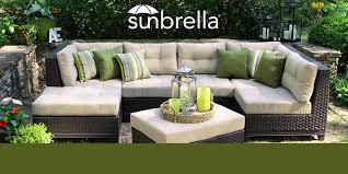 Sunbrella Outdoor Cushions Sunbrella Sofa Outdoor Tehranmix Decoration