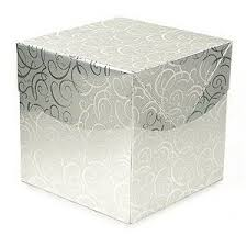fancy wrapping paper fancy paper gift box glossy silver gift wrap box co