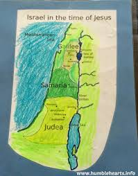 Map Of Israel In Jesus Time Jesus Is Born