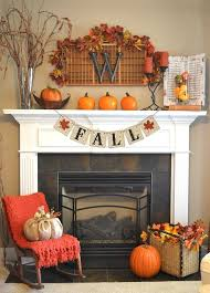 Fall Decor For The Home Fall Themed Decor Banner Fireplace Mantles Fall Decor And Mantle
