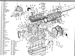 complete v 8 engine diagram engines transmissions 3 d lay out