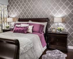 Wallpaper Bedroom Houzz - Bedroom wallpapers design