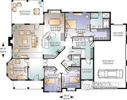 split bedroom floor plan house plan w3234 detail from drummondhouseplans com