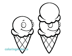 coloring pages ice cream cone coloring pages disney princesses ice cream cone page awesome of i
