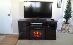 Fireplace Sets Walmart by Chimneyfree Media Electric Fireplace For Tvs Up To 65