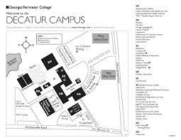 Georgia State University Map by Start Georgia Perimeter College