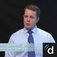 dr nicholas stowell ent otolaryngologist in concord nc us