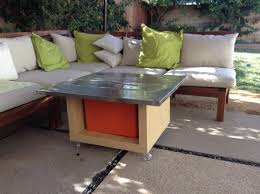 Outdoor Stainless Steel Furniture Lack Hack Stainless Steel Outdoor Table Ikea Hackers