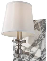 Fabric Shade Bathroom Sconce Traditional Bathroom Vanity Lighting - Bathroom vanity light with fabric shades