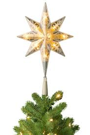 pre lit bethlehem tree topper soft white