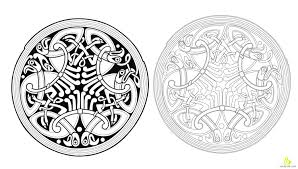 decorative with ornamental design free vector clipart