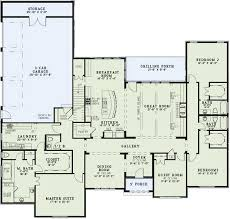one house plans with 4 bedrooms traditional style house plans 3415 square home 1 4