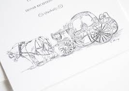 cinderella wedding invitations disney cinderella s carriage fairytale wedding invitations