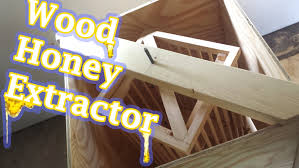 Heavy Duty Diy Bed Youtube by Diy Honey Extractor Powered By Treadmill Motor Youtube