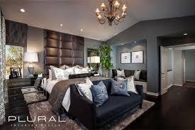 modern glam master retreat contemporary bedroom orange
