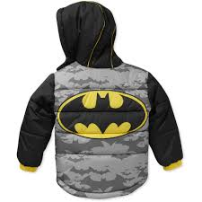 batman baby toddler boy hooded winter ja walmart