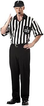 referee costume california costumes men s referee shirt costume