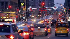 new york city ny november 24 new york city traffic at on